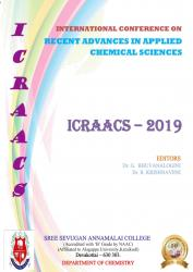 Cover for INTERNATIONAL CONFERENCE ON RECENT ADVANCES IN APPLIED CHEMICAL SCIENCES (ICRAACS 2019)