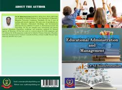 Cover for Educational Administration and Management